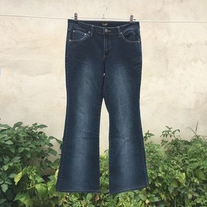 ANGELS flare blue jeans